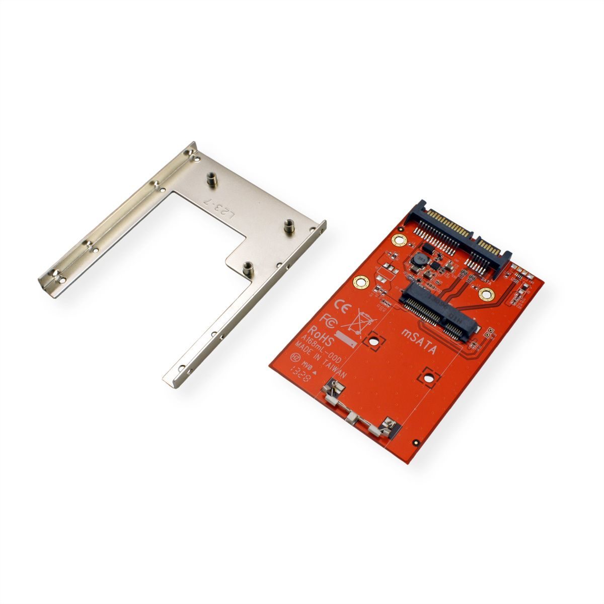 ROLINE Adapter, mSATA SSD to 2 5 SATA 22pin - SECOMP