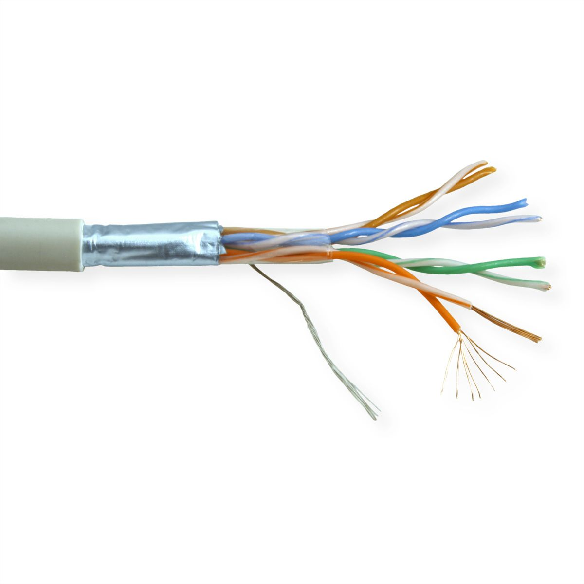 Roline Ftp Cable Cat5e Stranded Wire 300 M Secomp International Cat 5e Wiring
